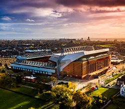 Liverpool Hospitality Ticket Packages available at Anfield Stadium