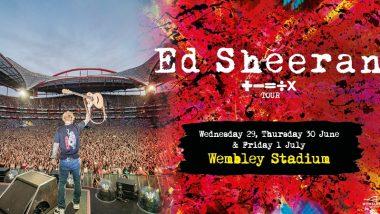 Ed Sheeran - Wednesday
